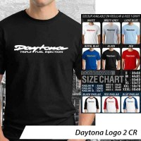 Daytona Logo 2 ~ Tshirt/Kaos/Raglan/Anak Oceanseven