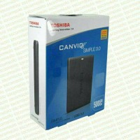 harga Hardisk Eksternal Toshiba Simple II 500gb Tokopedia.com