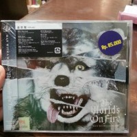 CD Man With A Mission - The Worlds On Fire