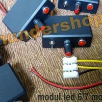 modul strobo led 7 mode ( 6 kedip + 1 manteng ) rakitan