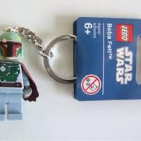 Boba Fett Lego keychain