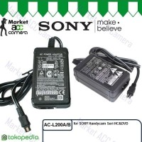 harga Adaptor/Adapter Sony AC-L200A/L200C Charger for Handycam HC&DVD series Tokopedia.com