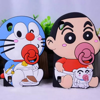 harga Casing Handphone Soft Case Baby Doraemon Bayi Emon iPhone 5 6 6 Plus Tokopedia.com