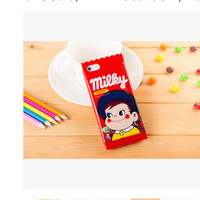 Casing Handphone Soft Case Milky Candy Permen Susu iPhone 5 6 6 Plus