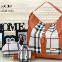 Tas Burberry Hobo Set 3 in 1(6013#)