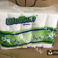 Tissue coreless merk WELTON - tissue gulung - tissue toilet/roll