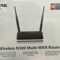 D-Link Router 4G, DWR-116, N300 Multi WAN WiFi Router