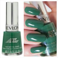 Revlon Top Speed Nail Enamel #330 Emerald