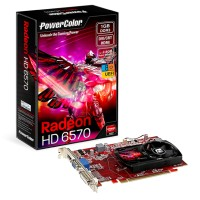 VGA Card POWERCOLOR PCI-E Radeon HD 6570 1GB DDR3 128bit GARANSI 1 TH