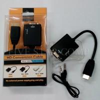 harga Converter HDMI to VGA Plus Audio Tokopedia.com