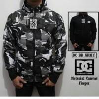 Jaket Bolak Balik Army Rusia DC - Black/Hitam ~ Premium
