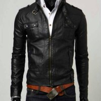 harga jacket kulit sintetis pria Tokopedia.com