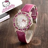 jam tangan anak perempuan hello kitty