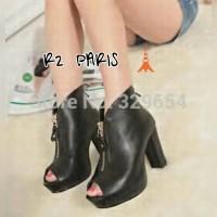 Harga boot heels wedges murah suplier sepatu sandal wanita murah | WIKIPRICE INDONESIA