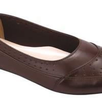 Sepatu Kulit Flat Wanita-Sepatu Kantor / Kerja / Main - HA 052 CATENZO