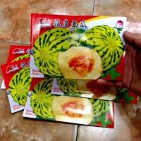 100 Benih Biji Bibit Melon Belang Manis Retail Pack