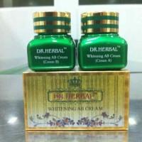 Dr. Herbal Whitening Cream Set Siang (Day) dan Malam (Night) Bpom