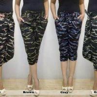 Jual celana pendek army model jogger pant cewe/wanita Murah