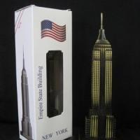Pajangan miniatur Empire State - souvenir New York - negara America