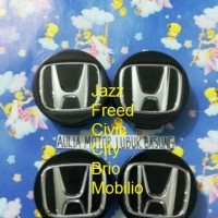 dop roda velg honda all new jazz freed civic city brio mobilio hitam 4