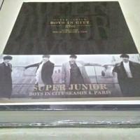 super junior boys in city 4 - official photobook plus dvd