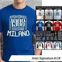 Inter Signature 8 ~ Tshirt/Kaos/Raglan/Anak Oceanseven