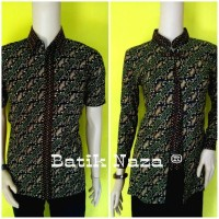 Batik Couple NZ Kantil Corak Hijau