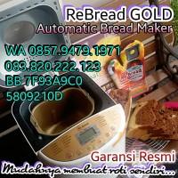 New Re Bread GOLD Series Mesin Pembuat Roti Otomatis