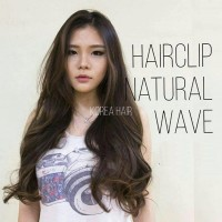 Korean Hairclip 60 cm ala Jessica Mila (Big Layer)