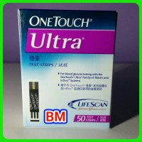 harga Strip One Touch Ultra OneTouch Ultra Isi 50 Tokopedia.com