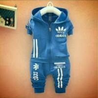 Setelan Jaket Anak Adidas Sporty / Baju Anak Laki Laki