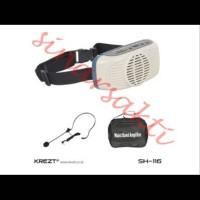 Waistband speker portable amplifier Krezt SH 116
