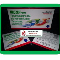 NEOZEP FORTE TABLET / OBAT PEREDA FLU