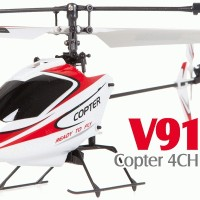 WL V911 4.5 CHANNEL RC HELI- RED