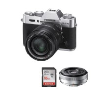 Promo - Fujifilm XT10 Kit 18-55mm (Silver) Free SDHC16GB