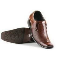Sepatu Formal Pantofel Coklat Kulit Asli / Sepatu Kerja Pria Pesta