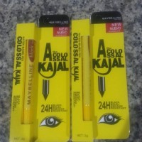 Maybelline Spidol Eyeliner Colossal Kajal New Nuevo Waterproof 24H