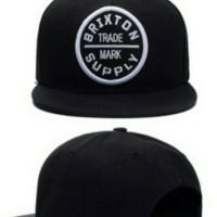 Topi / Hats  Snapback BRIXTON - Hitam