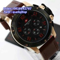 SWISS ARMY Chronograp Leather (RGBLR)