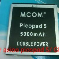 baterai axioo picopad 5 / GEW double power merk mcom