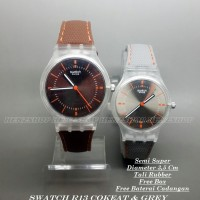 JAM TANGAN WANITA SWATCH R13 SEMI SUPER BOX EXCLUSIVE