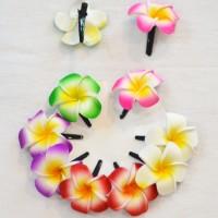 harga jepitan rambut aksesoris rambut khas bali bunga kamboja Tokopedia.com