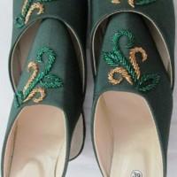 harga Sepatu Selop Couple Pengantin Kebaya akad nikah pre wedding murah baru Tokopedia.com