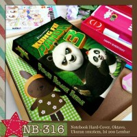 kungfu panda note book collection