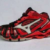 Sepatu Voly Mizuno Tr8 Mid Red Phoenix