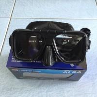 Diving Mask / Kacamata Selam PVC Alba