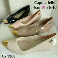 Captoe Jelly Shoes