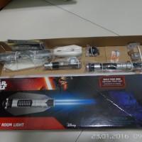 Uncle Milton Star wars science room light lightsaber Obi wan kenobi