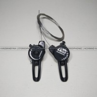 harga Shifter Thumb Shimano Dual Sis Index 7 Speed, Black Tokopedia.com