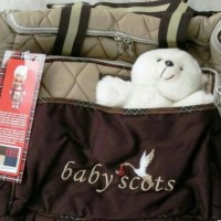 Tas bayi merk Baby Scott besar boneka